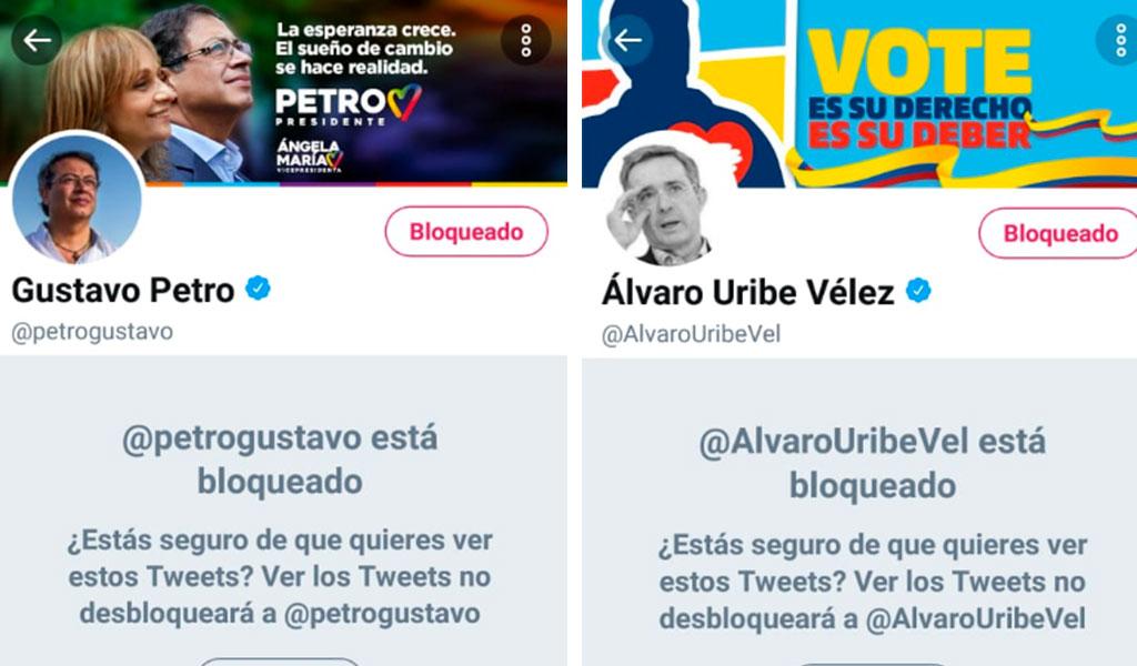 ¿Por qué Daniel Quintero bloqueó a Petro y Uribe?