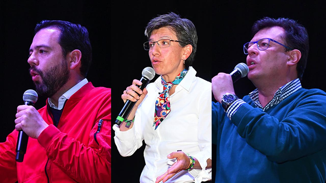 Debate candidatos a la alcaldía de bogotá