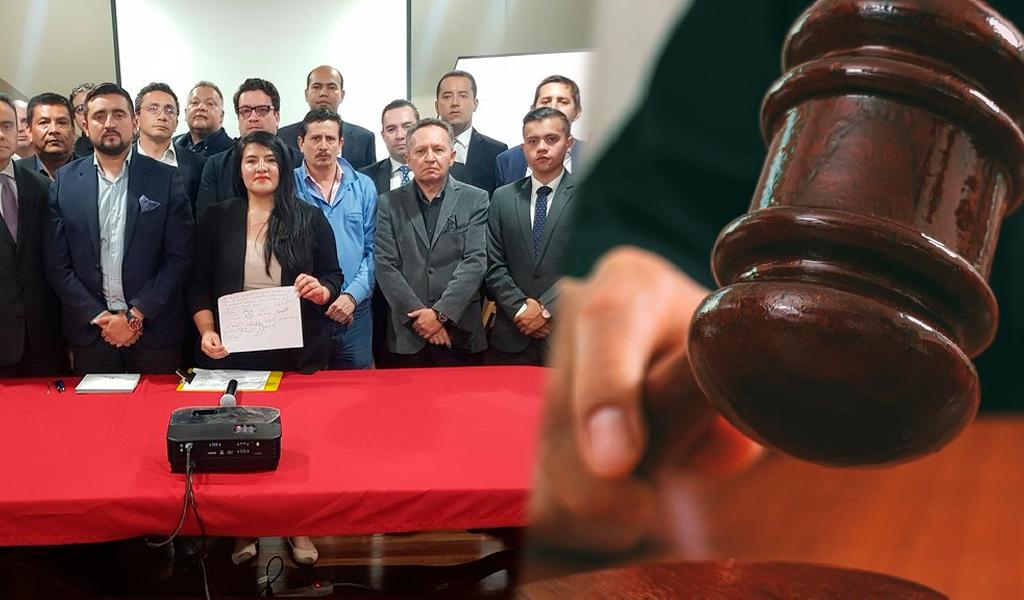 """""""Los jueces son perseguidos por actuar bajo la ley"""": abogados"""