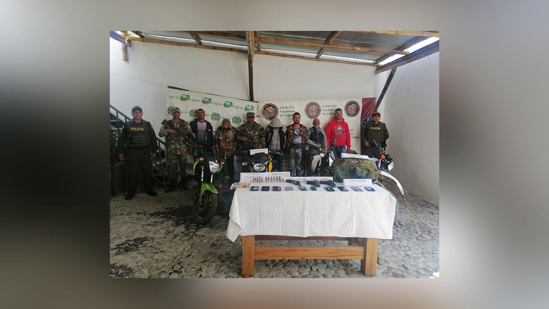 Ejército realizó la captura de cabecillas del Clan del Golfo