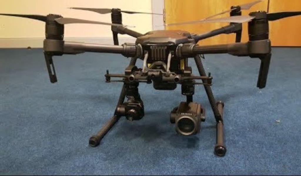 Con drones reforzarán seguridad en Medellín