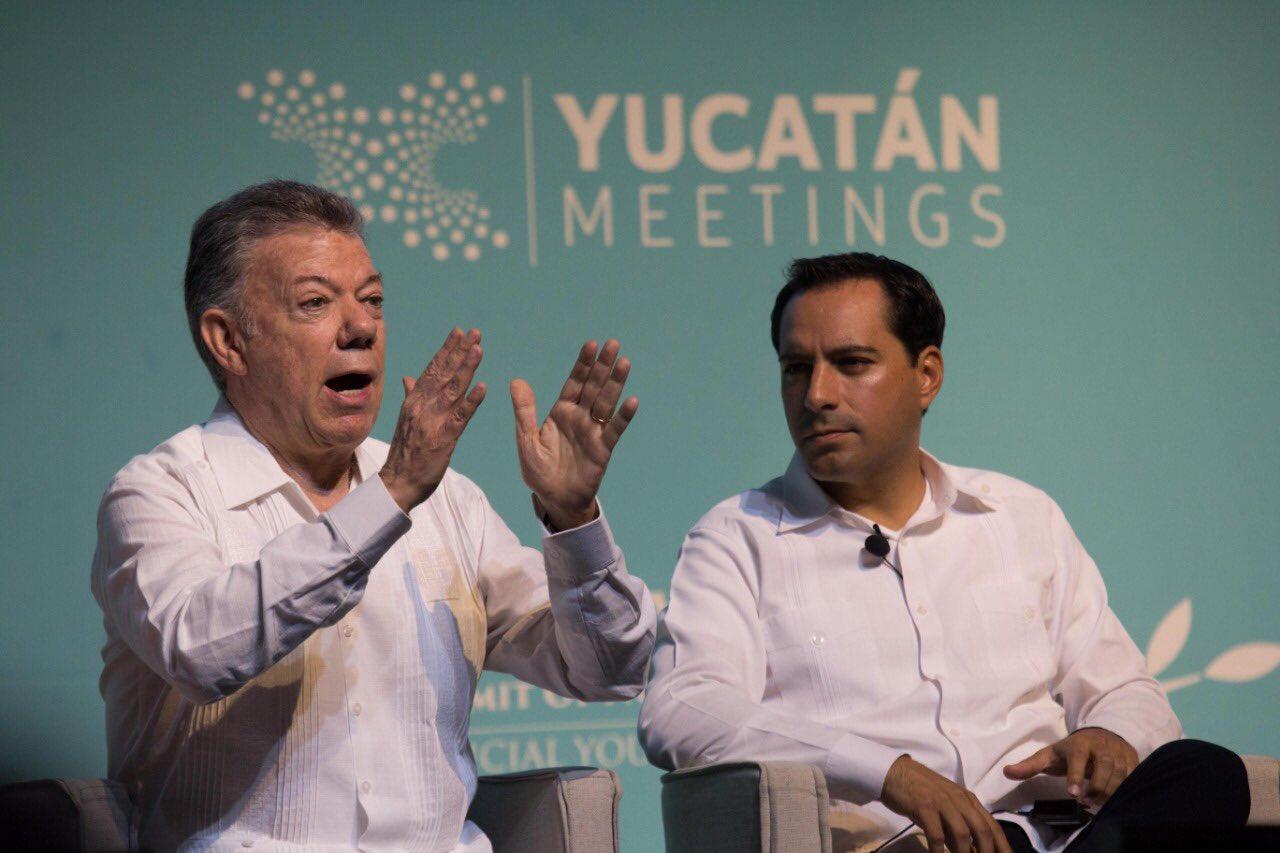 """""""No vamos a desfallecer en la búsqueda de la paz"""": Santos"""