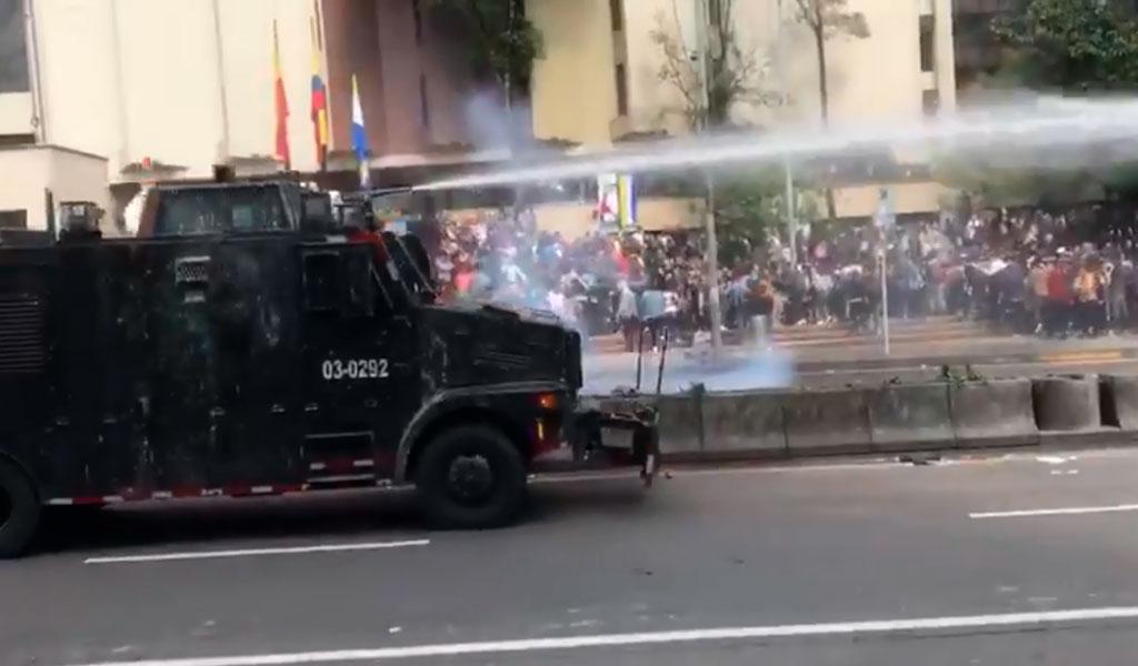En videos | No hubo paz sino desmanes en la Javeriana