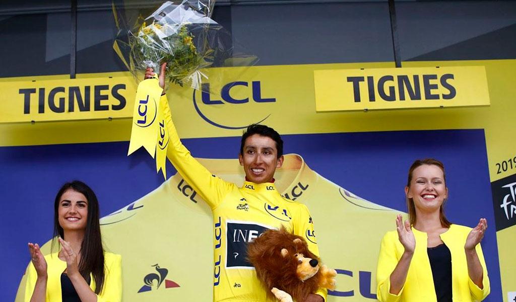 Egan Bernal, candidato a Bicicleta de Oro 2019