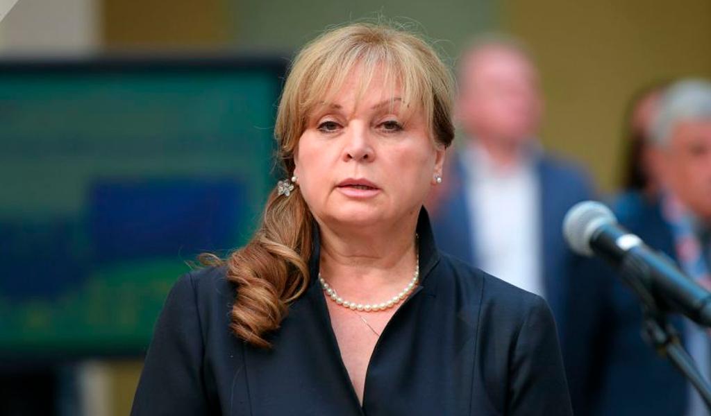 Funcionara electoral rusa fue atacada con pistola eléctrica