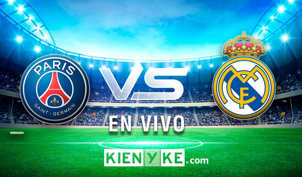 Goleada 3 – 0 del PSG al Real Madrid