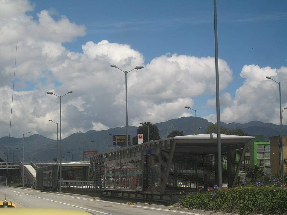 ¿Por qué hay trancón en la Autopista Sur de Bogotá?