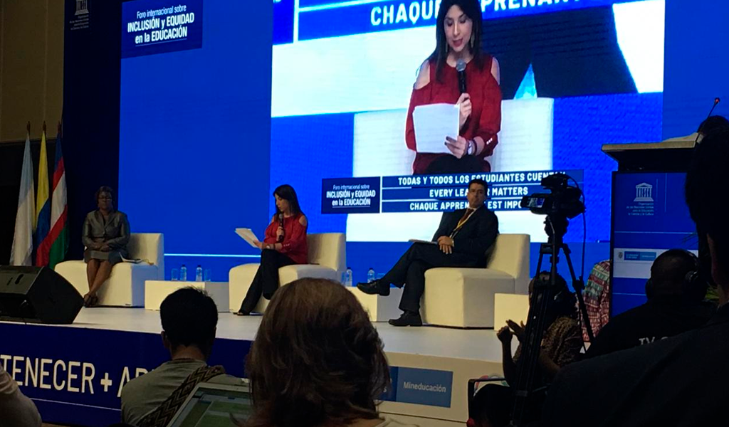 """""""La inclusión no solo involucra a discapacitados"""", Unesco"""