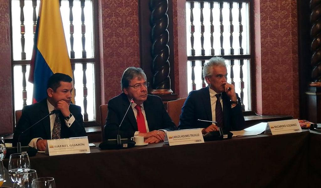 Canciller: Amenaza del régimen Maduro sigue creciendo