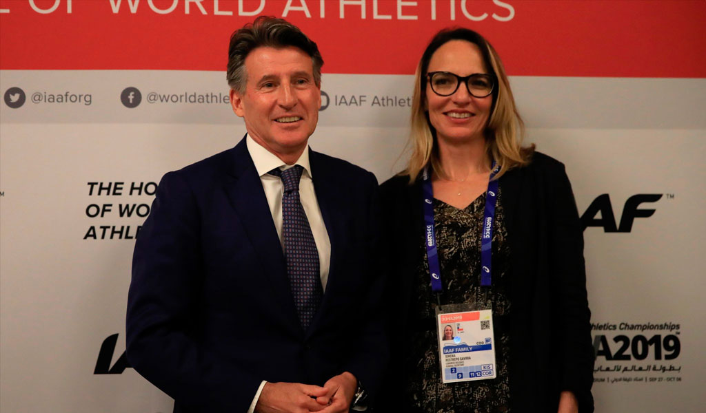 Ximena Restrepo, nueva vicepresidenta de la IAAF