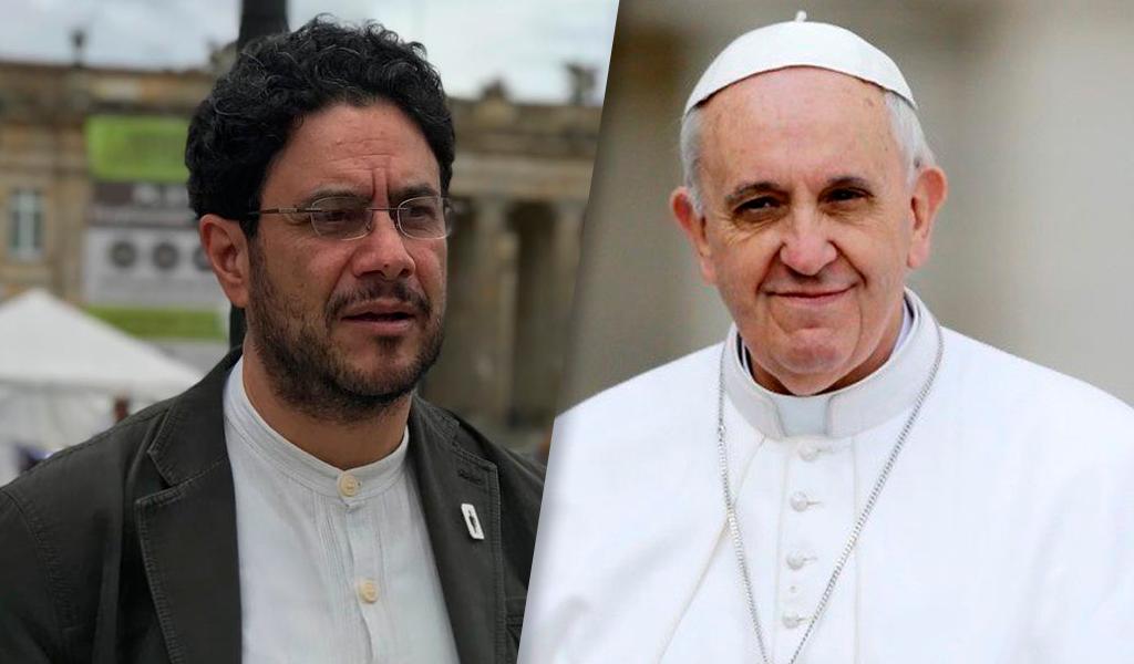 """""""El Papa nos pidió buscar con empeño la paz"""": Cepeda"""