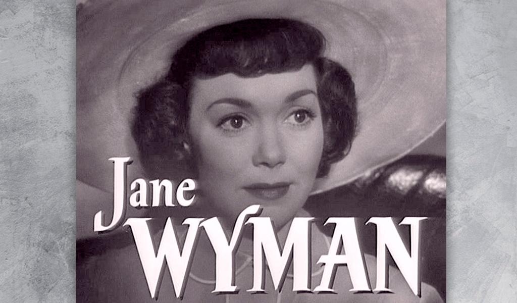 Jane Wyman, ganadora del Óscar y exesposa de Ronald Reagan
