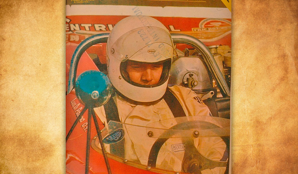 Luis Rubén Di Palma, el loco del automovilismo