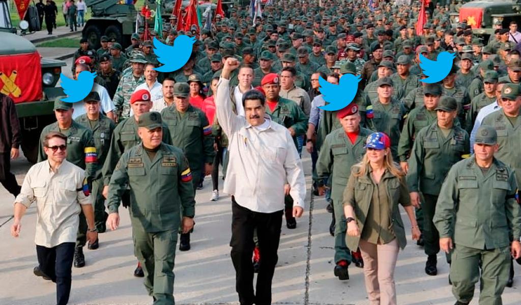 Maduro fanfarronea sobre ejercicios militares