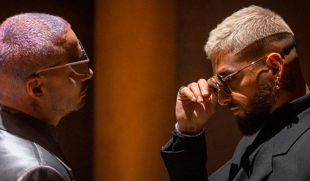 'Qué pena', la primera colaboración de Maluma y J Balvin