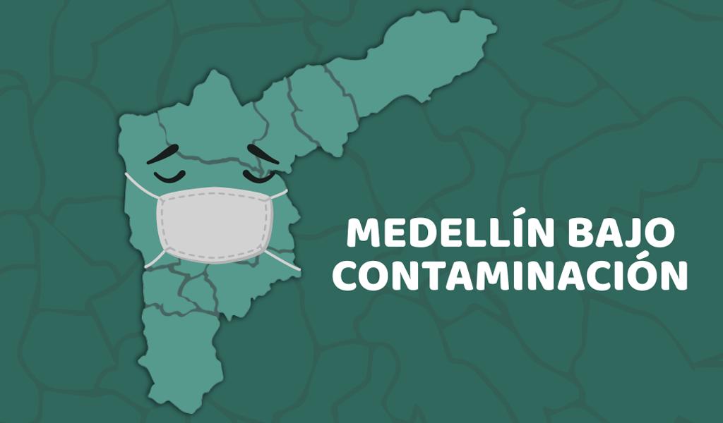 Medellín bajo contaminación