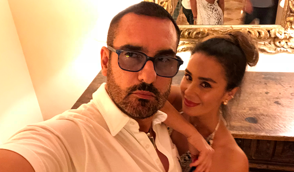 La escena de celos de Miguel Varoni a Catherine Siachoque
