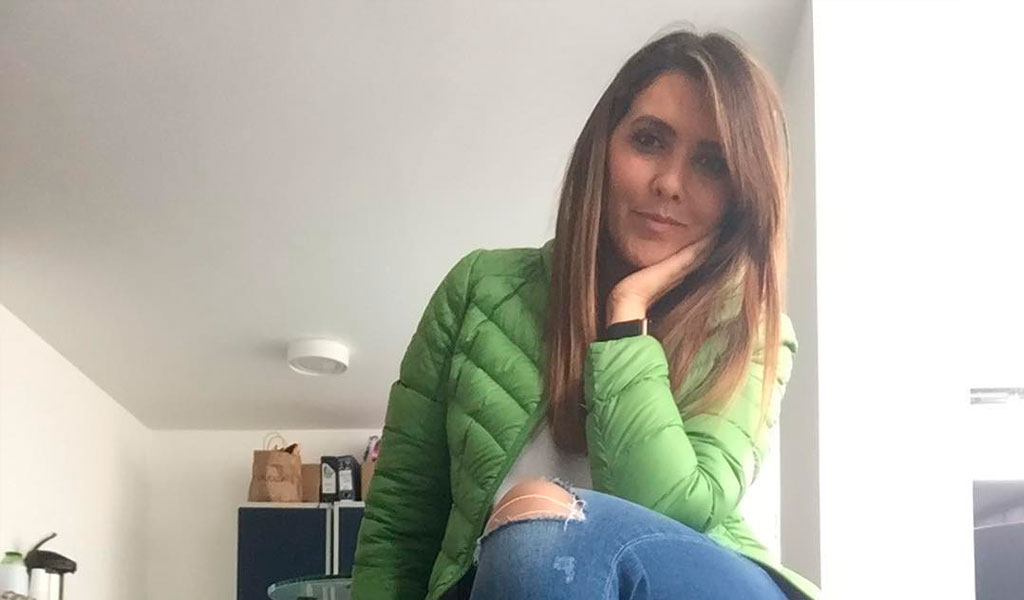La lujosa nevera de Mónica Rodríguez