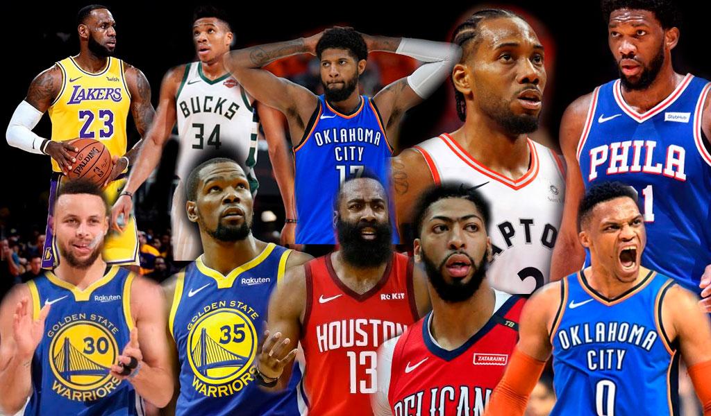 Ranking de los mejores jugadores de la NBA en la última década