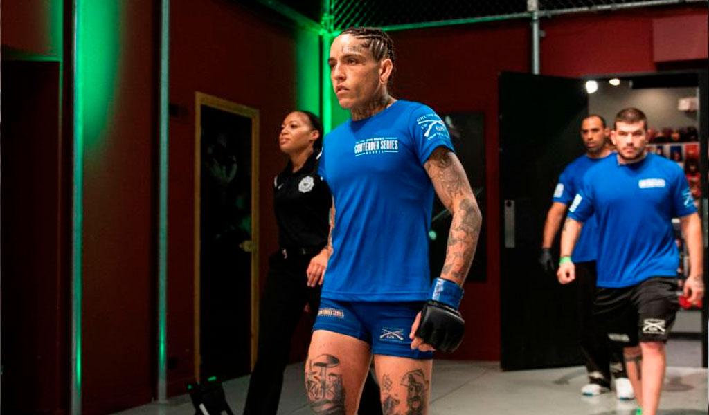Sarah Frota sancionada en la UFC por dopaje