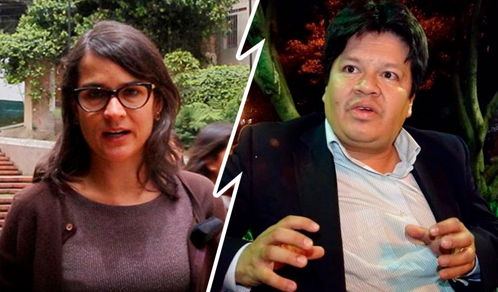 Roce entre Carolina Sanín y Andrés Mauricio Muñoz