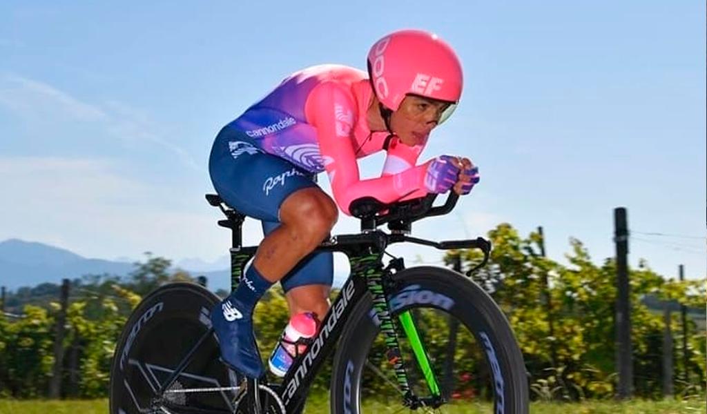 Sergio Higuita, en el top 4 del mundial de Ciclismo