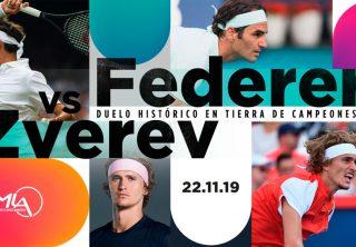 Roger Federer ya está en Colombia