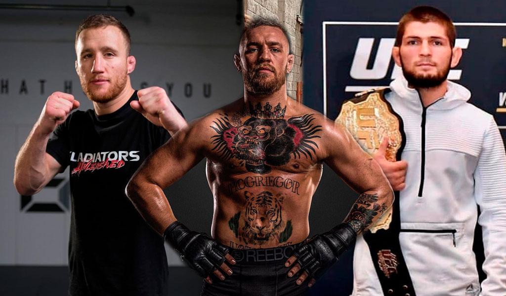 El luchador Justin Gaethje se une a la ofensa contra McGregor
