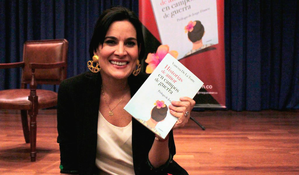 """""""El amor es más fuerte que la guerra"""": Vanessa de la Torre"""