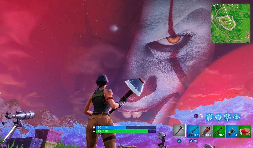 ¿Un misterioso globo rojo y una risa macabra en Fortnite?