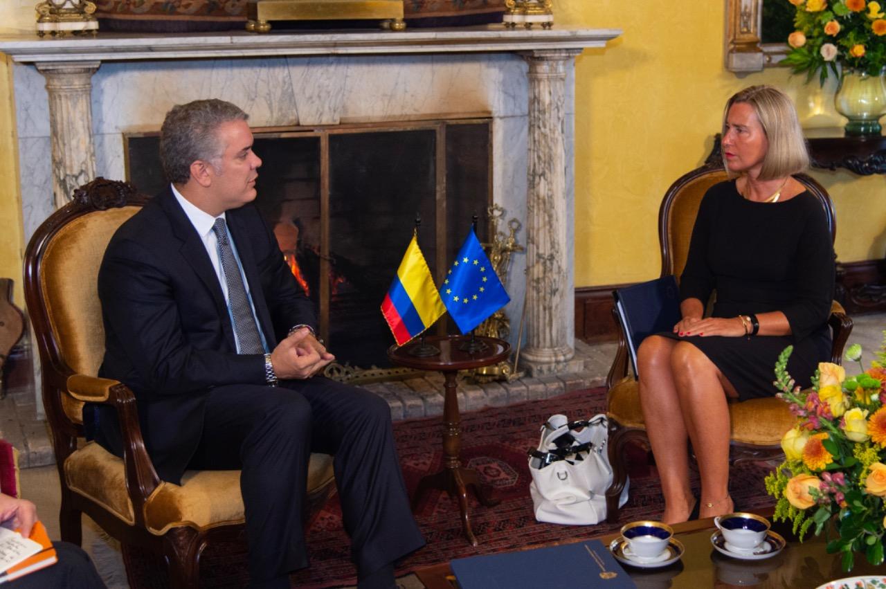 UE reafirma apoyo al proceso de Paz en Colombia