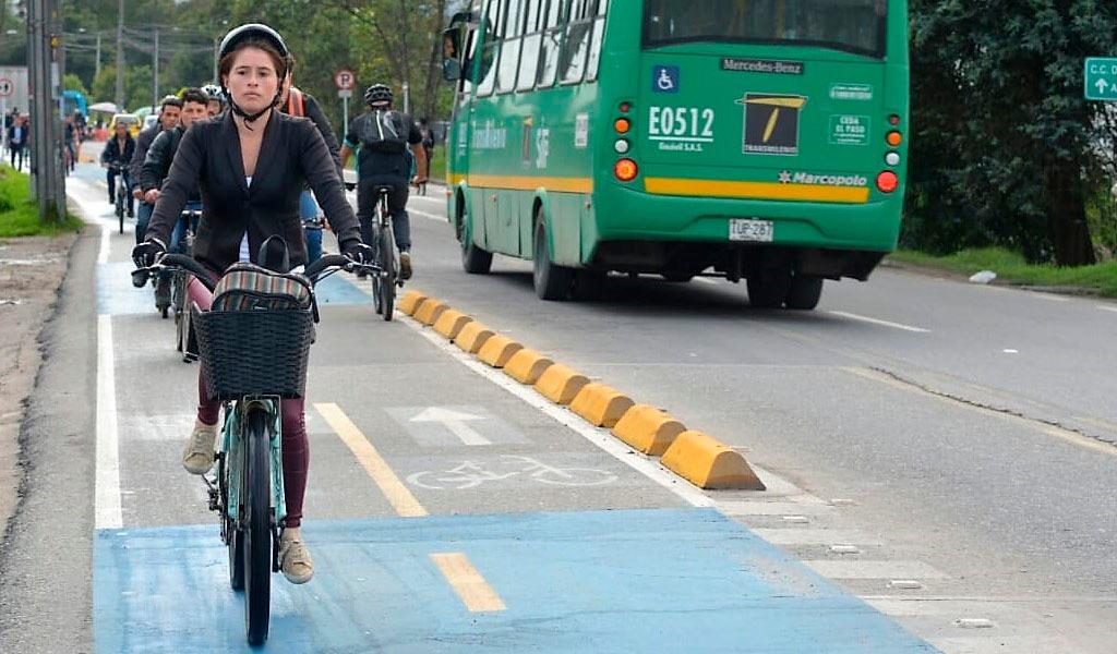 """""""Mujeres en Bici"""", Bogotá, Bicicleta, Secretaría de la Mujer, Seguridad, Ángela Anzola"""