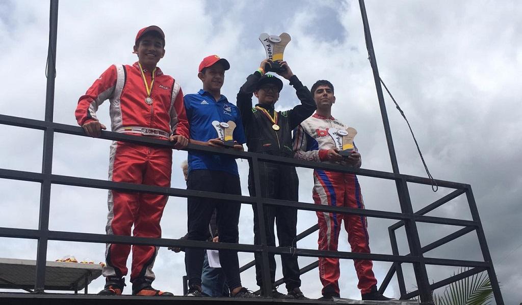 Colombiano correrá en el Mundial de Easy Kart