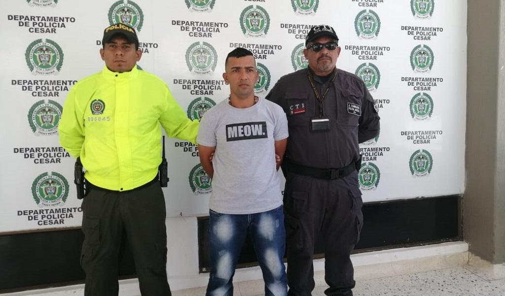 Alberto Aroca, asesinato, Fiscalía, asesino, captura, Valledupar