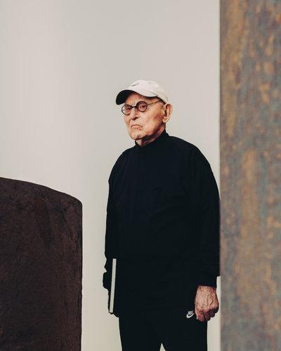 Richard Serra, el escultor cuyas obras valen lo que pensan