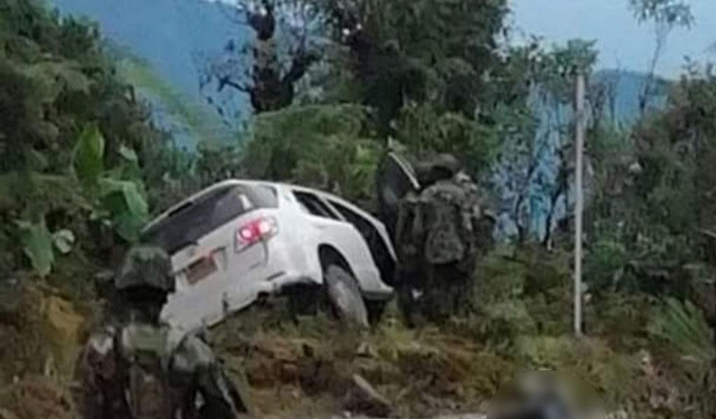 Ataque carro UNP, UNP, ASI, Yolanda González, error