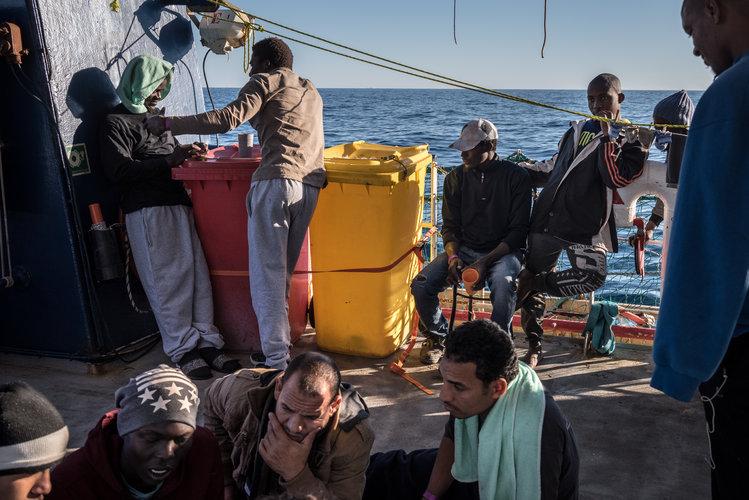 El dilema de Europa frente a la imparable migración