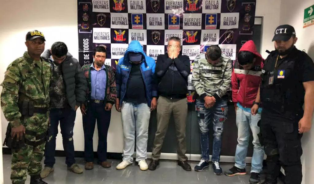 Cae banda con presuntos nexos con carteles mexicanos