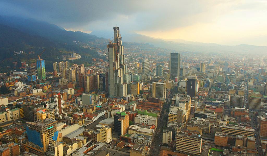 energía, Bogotá