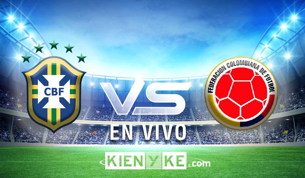 Empate entre Colombia y Brasil