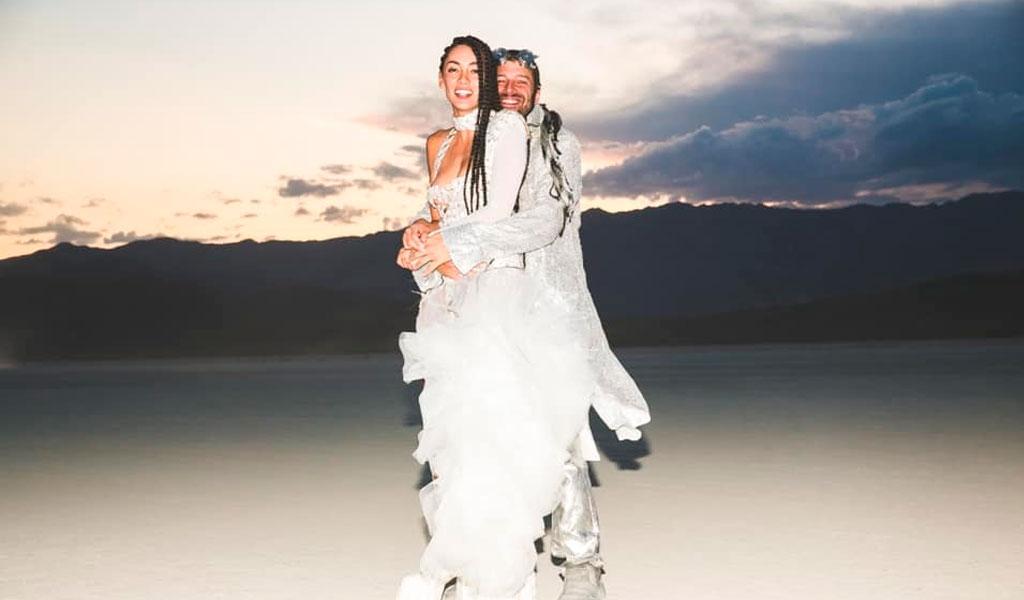 Se conocen nuevas fotos del matrimonio de Carolina Guerra