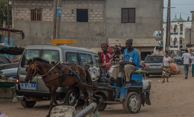 Mototaxis sustituirían caballos en Dakar