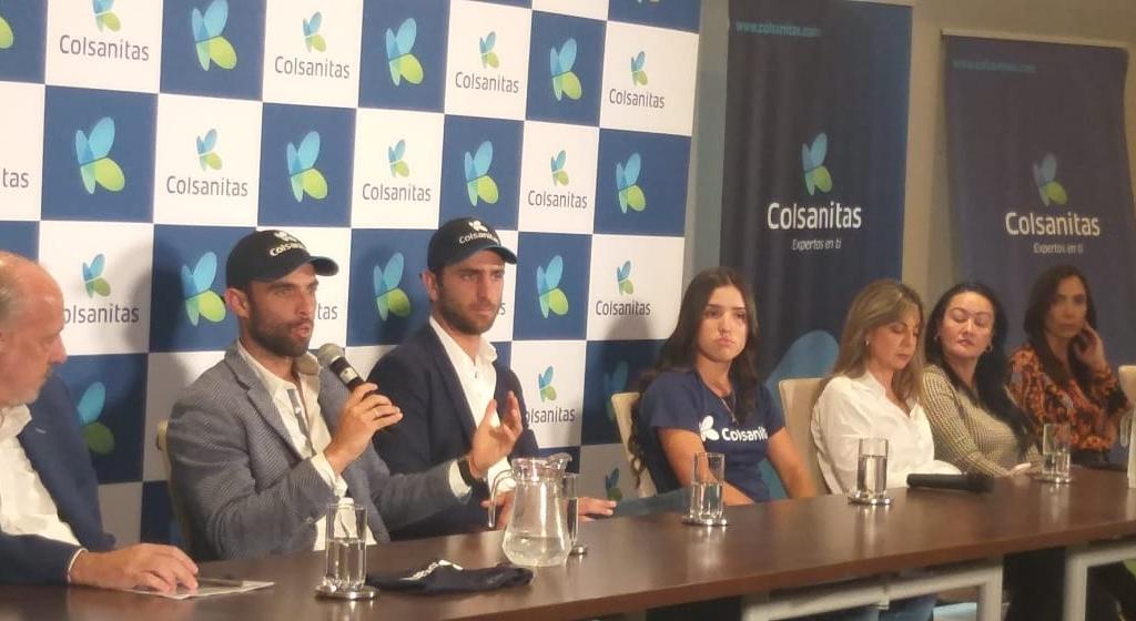 """""""Somos embajadores de Colombia"""": Cabal, Farah y Osorio"""