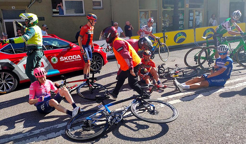 La impactante caída que se vivió en La Vuelta a España