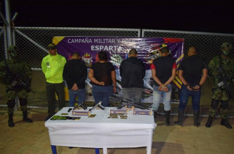 Capturan disidentes de las Farc en Norte de Santander