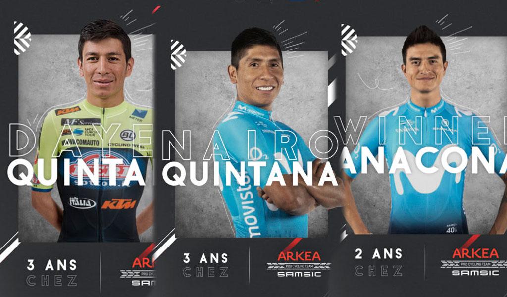 Quintana, Team Arkéa Samsic
