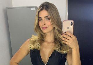 La sensual imagen de Cristina Hurtado en body