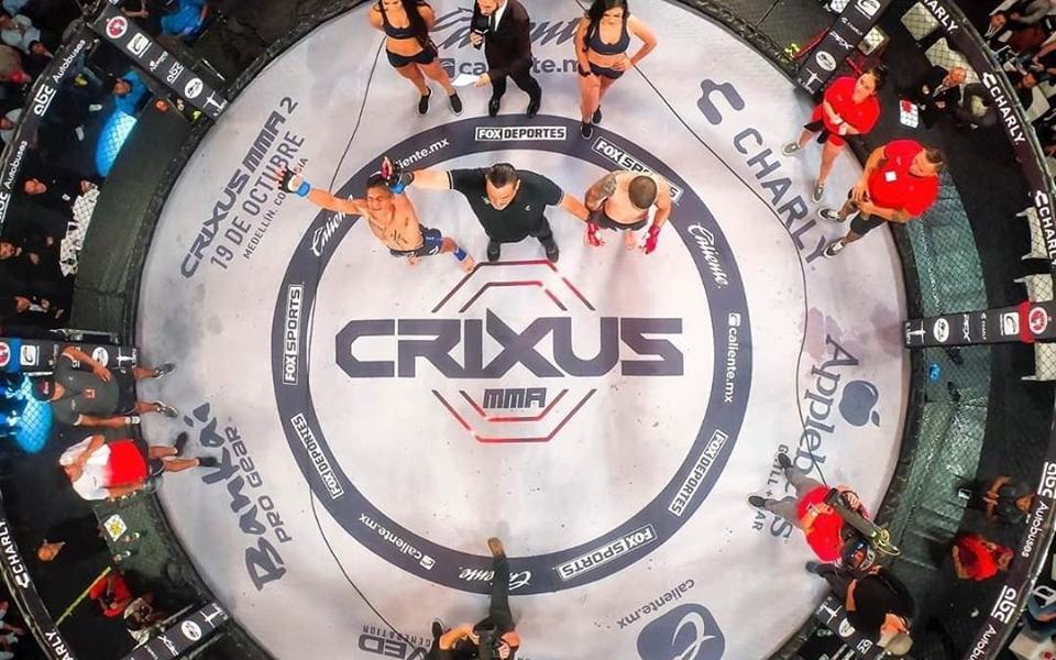 Crixus – UGP, el nuevo evento de la MMA en Colombia