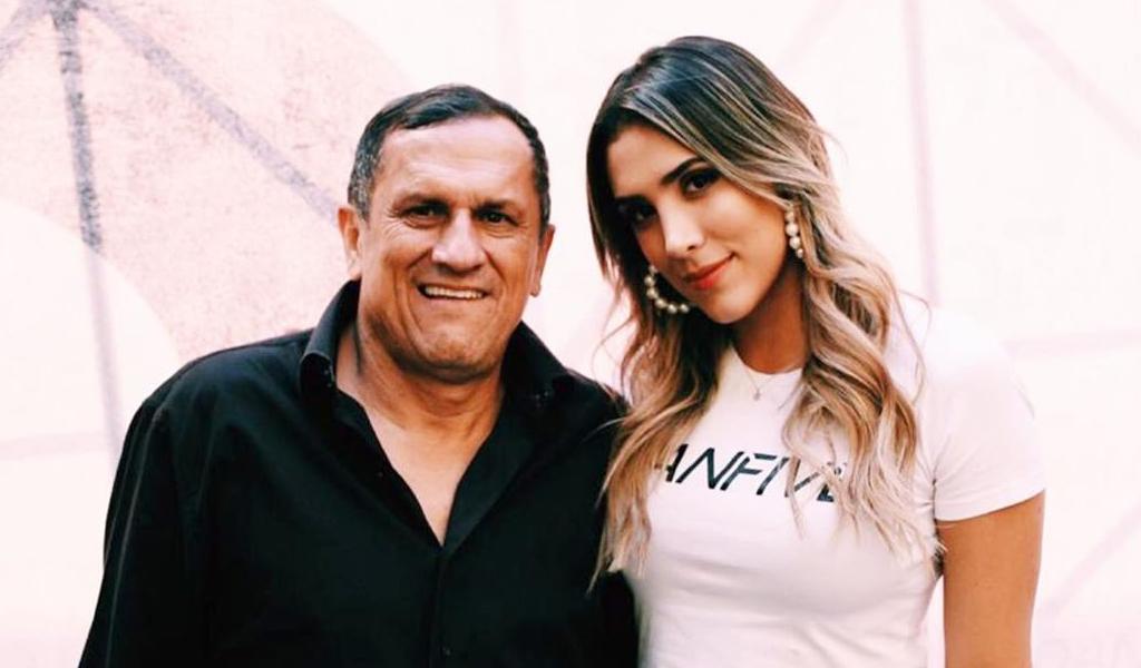 Daniela Ospina recuerda a su padre en redes sociales