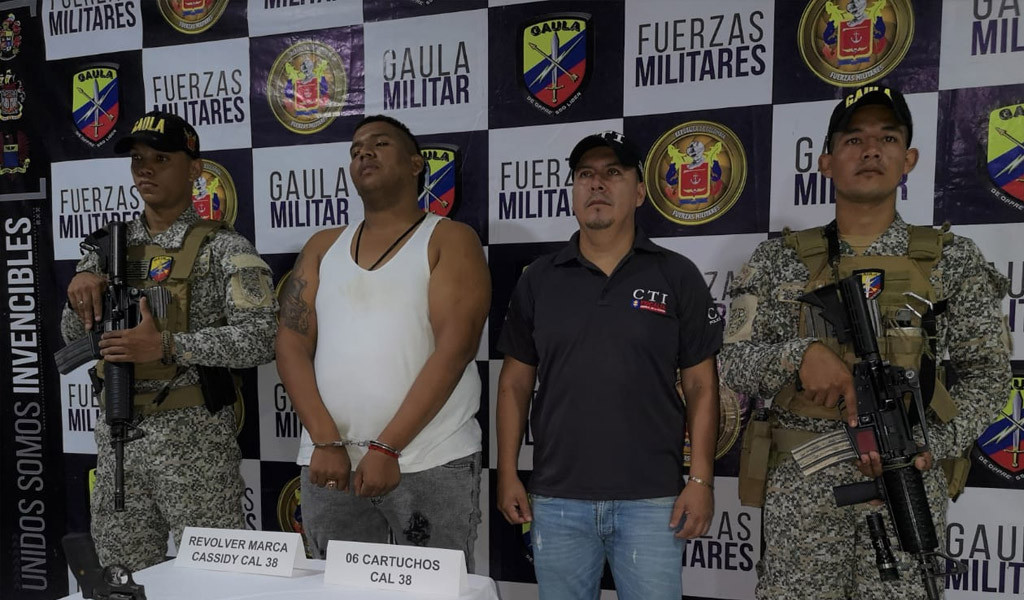 Gordo Lindo, Gaula, captura, criminal, Buenaventura, Valle del Cauca, extorsionar